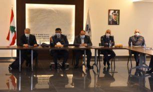 اللواء عثمان ترأس اجتماع لجنة الطّوارئ لرفع حالة التأهب في السّجون image