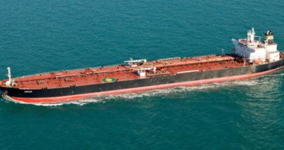 انفجار لغم بناقلة نفط يونانية في ميناء سعودي image