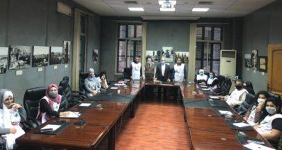 يمق التقى طلاب وطالبات دورة الإسعافات الأولية في بلدية طرابلس image