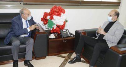 رحمة زار وزير الصحة: إنسانيته تلتقي مع تمرسه العلمي image
