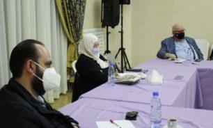 الاجتماع التنسيقي حول مستجدات كورونا في صيدا بدعوة من بهية الحريري image