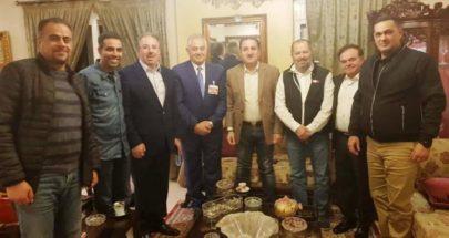 طلال حواط التقى عددا من رجال الأعمال في طرابلس والجوار image
