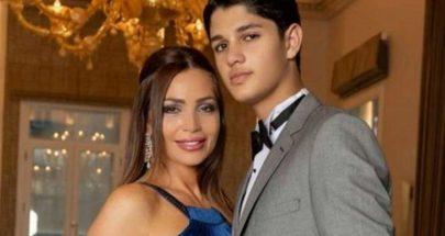 """زوجة راغب علامة تخطف الأنظار مع إبنها """"لؤي"""" بطريقة طريفة.. بالفيديو image"""