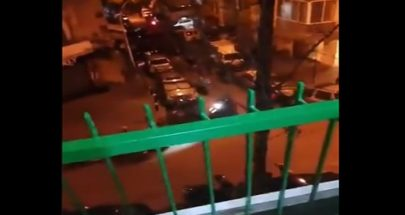 بالفيديو إطلاق نار في الطريق الجديدة... إشكال بين شبان وعناصر من قوى الامن image
