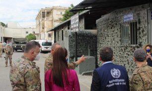 زيارة وفد من منظمة الصحة العالمية إلى الطبابة العسكرية image