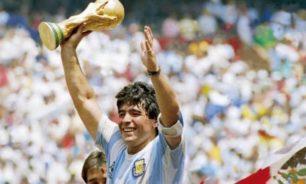 وفاة أسطورة كرة القدم الارجنتيني دييغو مارادونا image