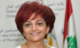 ضومط: الممرضات والممرضون جاهزون لمواكبة أي خطة بكل لبنان image