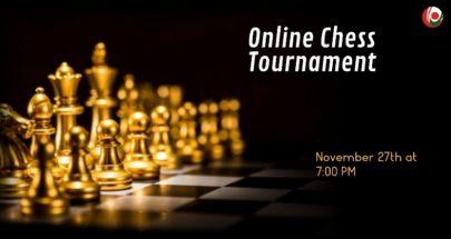 شطرنج إفتراضي رباعي في الجامعة اللبنانية لمناسبة الإستقلال image