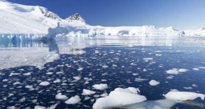 ذوبان ملحوظ في سطح طبقة الجليد لأنتاركتكا image