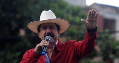 توقيف رئيس هندوراس السابق في المطار لحمله 18 ألف دولار image