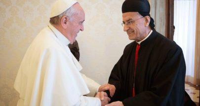 """الراعي في الفاتيكان... الوضع دراماتيكي انقذوا المسيحيين والكيان"""" image"""