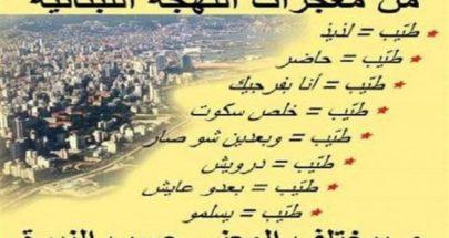عجائب اللهجة اللبنانية image