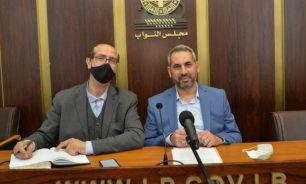 حمادة والموسوي تقدما باقتراح لانشاء مؤسسة مياه بعلبك الهرمل image