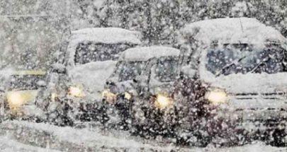 إليكم الطرقات الجبلية المقطوعة بسبب تراكم الثلوج image