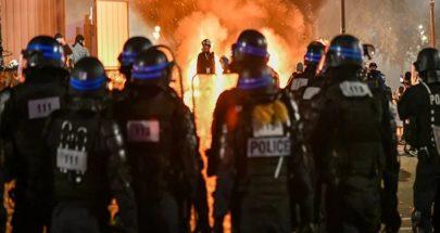 أعمال شغب في باريس... حجارة ومفرقعات وقنابل مسيلة للدموع: الجميع يكره الشرطة image