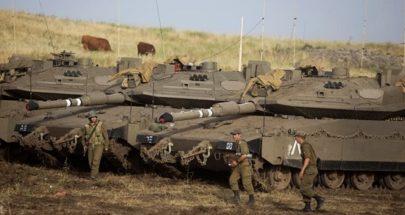 بالفيديو... تعزيزات إسرائيلية ودبابات على الحدود مع لبنان image
