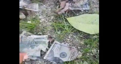 """بالفيديو 20 الف دولار محروقة في باتوليه: """"آخ يلي ما إلو حظ ما عندو حظ""""! image"""