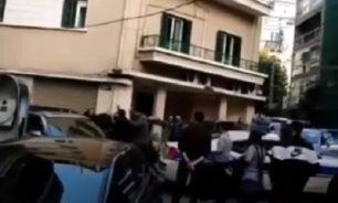 بالفيديو إشكال بين طلاب القوات وحزب الله في الجامعة اليسوعية! image