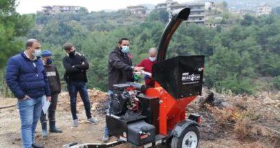 بلدية عكار العتيقة تسلمت آلة فرم للمخلفات الزراعية image