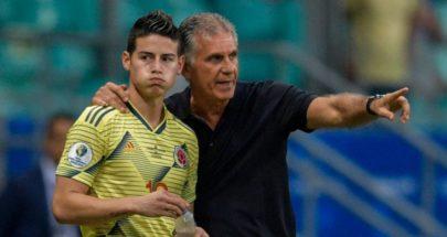 إقالة البرتغالي كيروش من تدريب منتخب كولومبيا image