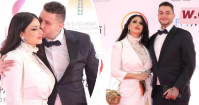 بالصور: أحمد الفيشاوي يثير الجدل مجددًا بتقبيل زوجته image