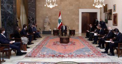 الرئيس عون: خسائرنا بسبب الحرب السورية فاقت 45 مليار دولار image