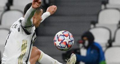 رونالدو يسجل هدفه 750 بأول مباراة تديرها سيدة بأبطال أوروبا image