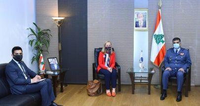 عثمان استقبل السفيرة الكندية image