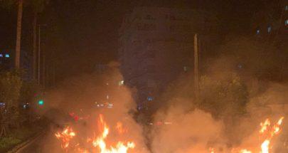 وصول تعزيزات اضافية لقوى الامن الى سراي طرابلس لمنع المحتجين من دخولها image