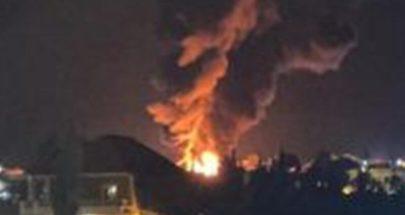 انفجار خزان للمحروقات في منطقة القصر الحدودية image
