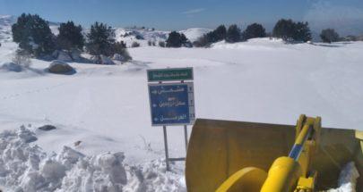 العمل على فتح طريق عام القموعة وطى مشمش ومرجحين الهرمل image