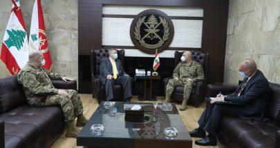 قائد الجيش استقبل كوبيتش في زيارة وداعية image