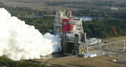 """ناسا: انتهاء اختبار إطلاق """"الصاروخ الجبار"""" قبل الأوان image"""