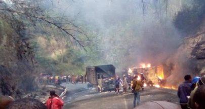 مقتل 53 شخصا احتراقا في حادث حافلة في الكاميرون image