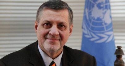 كوبيش... مبعوث خاص للأمين العام ورئيسا لبعثة الأمم المتحدة في ليبيا image