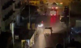 عناصر مكافحة الشغب تمكنت من ابعاد المحتجين عن سراي طرابلس image
