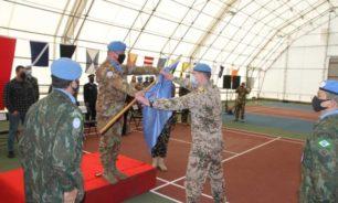 احتفال لمناسبة انتقال قيادة اليونيفيل البحرية من البرازيل الى المانيا image