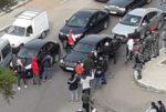 بالفيديو: إشكال بين عناصر القوى الامنية وعدد من المتظاهرين في طرابلس image
