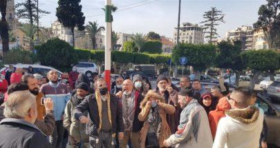 بالفيديو: من طرابلس إلى صيدا... إحتجاجات على الأوضاع المعيشية المتردية image
