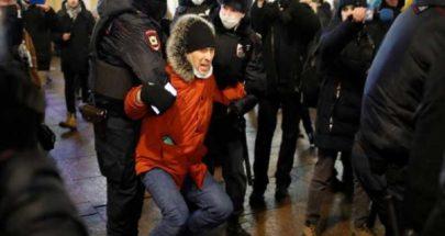 دعوات أوروبية لمعاقبة بوتين بسبب اعتقال نافالني والآلاف من مؤيديه image