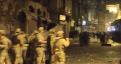 أكثر من 30 جريحا في طرابلس... مواجهات عنيفة بين الجيش والمحتجين image
