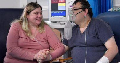 """قصة حبّ... قبل ساعة من """"العناية المركزة"""" زواج يتحدى الوباء! image"""