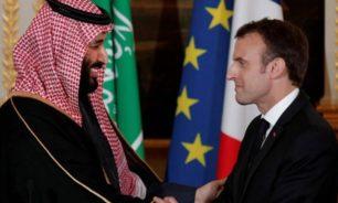 ماكرون لمحمد بن سلمان: لا تتركوا لبنان ينهار image
