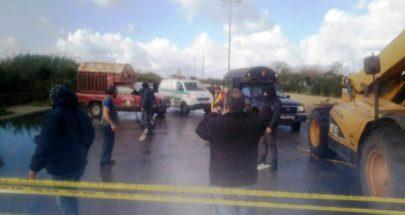بدء فتح المجاري على اوتوستراد طرابلس البداوي الجديد image