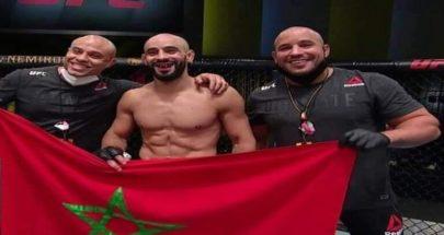 """طرد المغربي أبو زعيتر من منظمة """"UFC"""" قبيل نزاله ضد فريفولا image"""