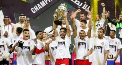 شباب الأهلي يتوج بكأس السوبر الإماراتي image