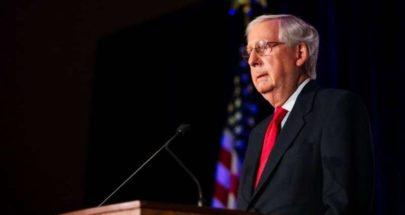 زعيم الجمهوريين بمجلس الشيوخ يتخلى عن اعتراضه... image