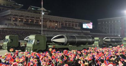 """كوريا الشمالية تستعرض """"أقوى سلاح في العالم"""" بحضور زعيمها image"""