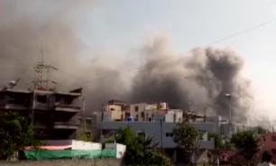 حريق في أكبر معهد لإنتاج اللقاحات في العالم في الهند image