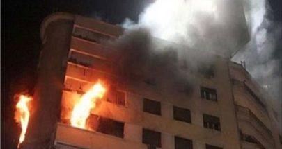حريق داخل منزل في صيدا وإصابة صاحبه image
